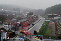 It's a wet wet day over in Francorchamps