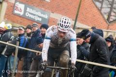 10-12-2017: Wielrennen: Druivencross: Overijse: Mathieu van der Poel wint de Druivencross