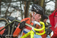 WK Zolder Damen U23: Esmee Oosterman