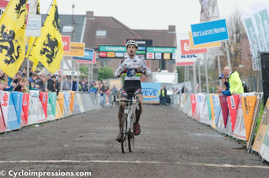 Wout van Aert is a class of his own, once again